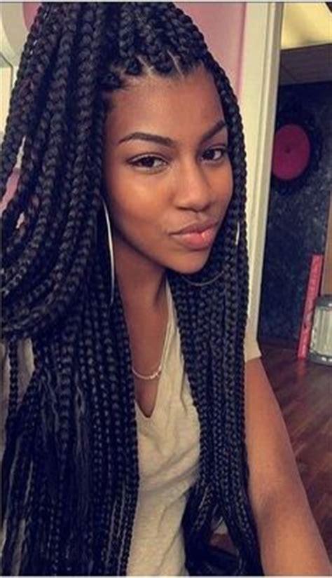 hair styles lengths for medium shorter braids or box braids 8252