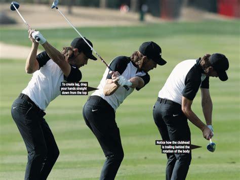 Cupped Wrist Golf Swing Ball Flight