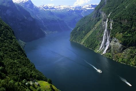 Seven Sisters Waterfall Norway Feel The Planet