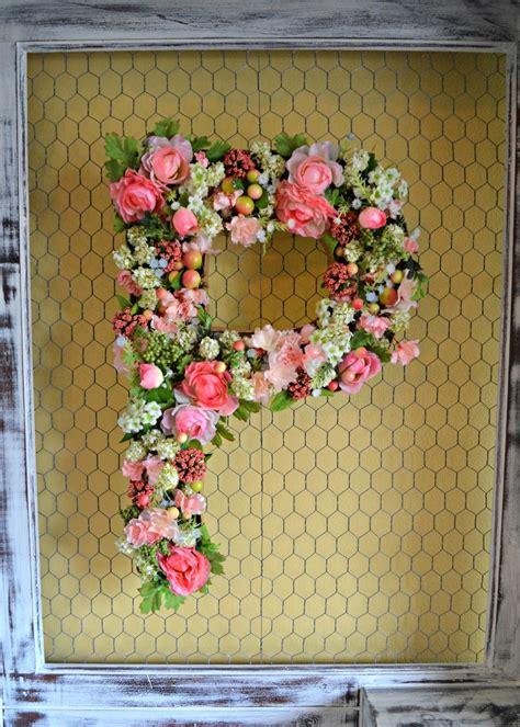 domestic doozie diy flower monogram