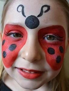 Maquillage D Halloween Pour Fille : maquillage enfant coccinelle face painting kids makeup face paint makeup animal face paintings ~ Melissatoandfro.com Idées de Décoration