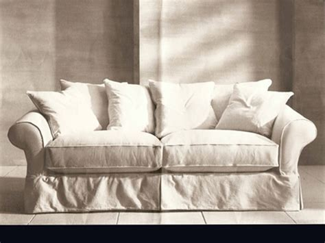 Crate & Barrel Bloomsbury Sofa Slipcovers