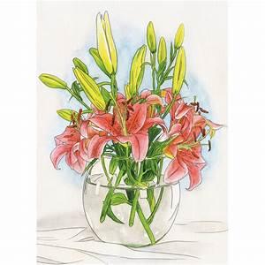 Aquarell Malen Blumen : lilien aquarell malen nach zahlen schipper malvorlage ~ Articles-book.com Haus und Dekorationen