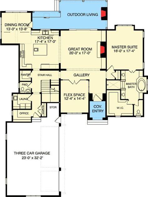 plan el manor  main floor master floor plans house plans   plan