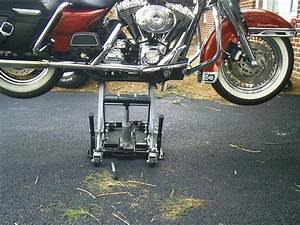 Lift motorcycle jack points on rkc harley davidson forums for How to jack up a motorcycle with a floor jack
