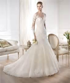 pronovia brautkleider ten beautiful sleeve mermaid wedding dresses