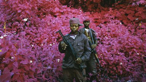 richard mosse photographs war  technicolor