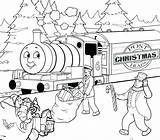 Coloring Train Thomas Pages James Christmas Drawing Friends Printable Csx Caboose Engine Colouring Santa Getcolorings Birthday Toddlers Elegant Vistoso Drawings sketch template