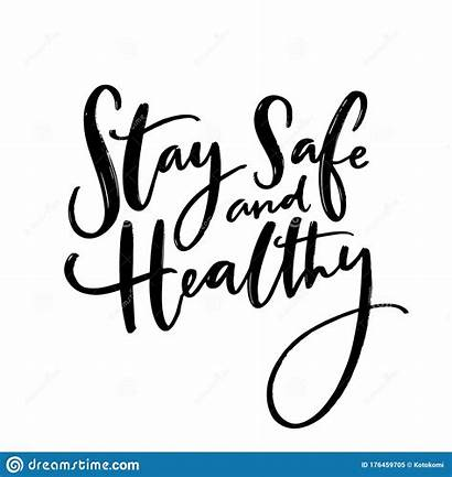 Safe Stay Healthy Care Message Quote Wish
