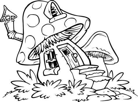 Free Printable Mushroom Coloring Pages
