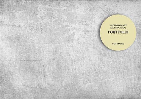 13771 architecture portfolio design cover undergraduate architecture portfolio by udit marol issuu