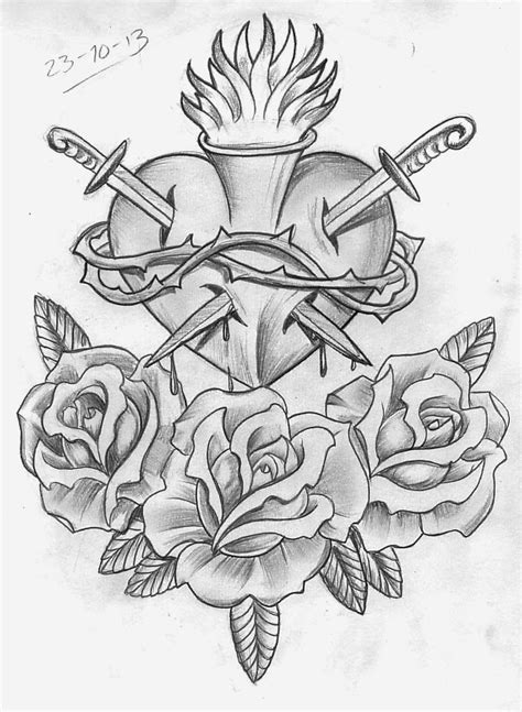 Tattoo Sketch A Day: Religious October 22nd - 31st