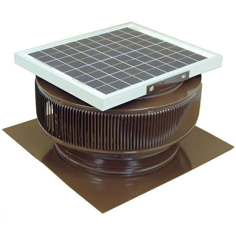 vent exhaust fan to attic active ventilation 1007 cfm brown powder coated 15 watt