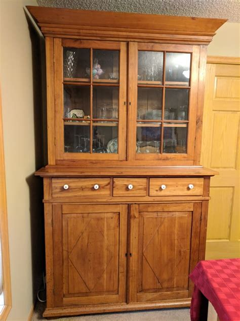 antique china hutch value finding the value for your antique furniture thriftyfun