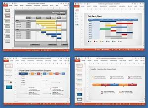 project review template ppt animated gantt chart With project review template ppt
