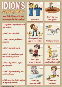 english exercises animal similes