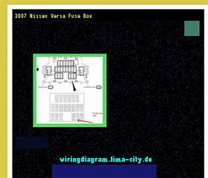 2007 Nissan Versa Fuse Box  Wiring Diagram 17564