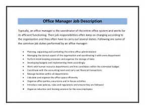 Office Assistant Job Description Sample Recentresumes Com