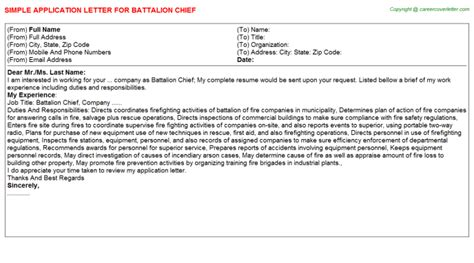 battalion chief title docs job200920