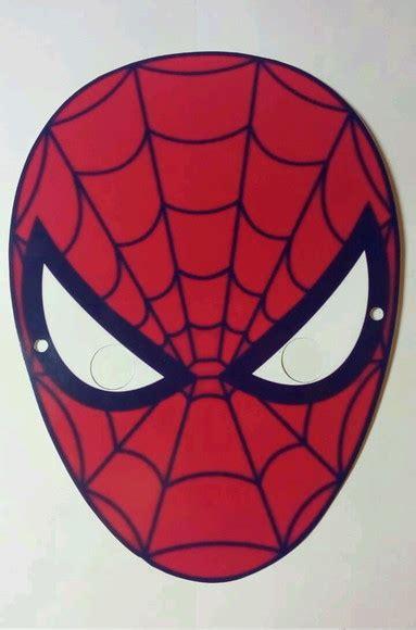 Máscara Personalizada Homem Aranha no Elo7 Recanto das