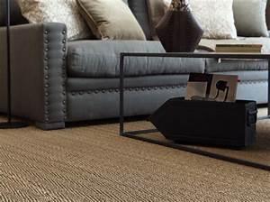 les sols ont la fibre vegetale elle decoration With tapis jonc de mer avec helly canapé