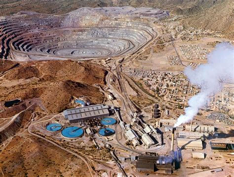 Mine Tales: Ajo had Arizona's first open pit copper mine ...