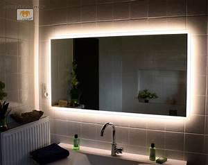 Led Beleuchtung : led badspiegel allround nach ma mit beleuchtung wandspiegel lichtspiegel ebay ~ Orissabook.com Haus und Dekorationen