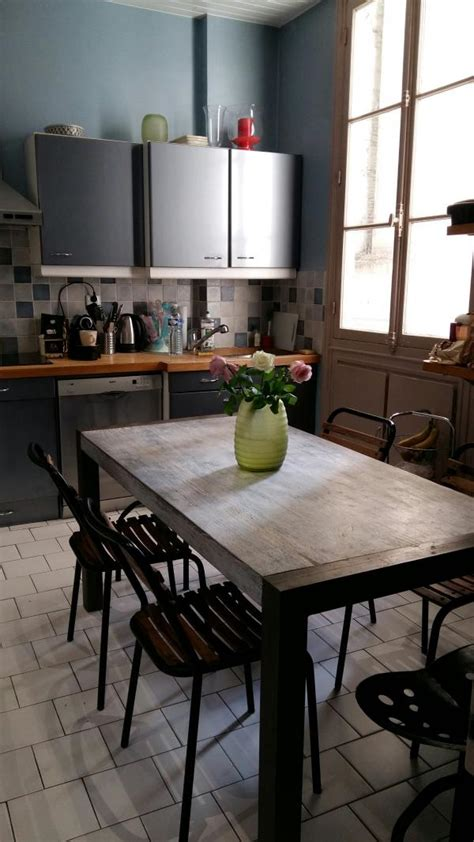 hocker für küche recycelter tisch aus teakholz esstisch grauer stahl pib