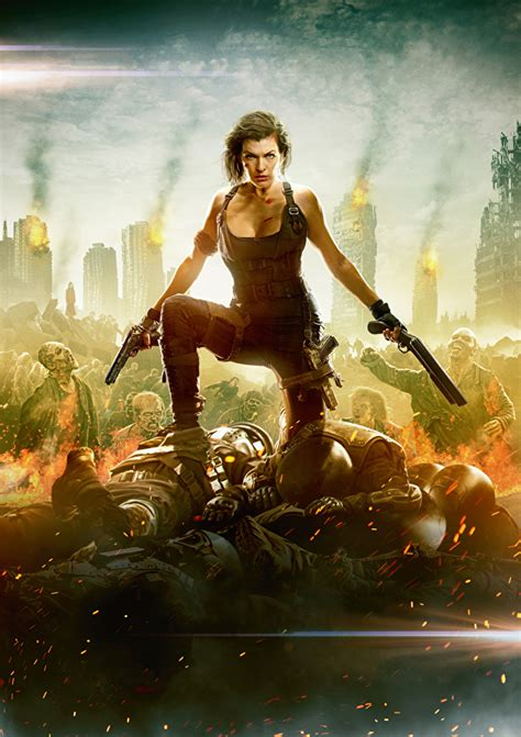 wallpapers resident evil  final chapter milla jovovich