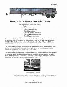 Trinity Trailer Owners Manual 2013 Eagle Bridge By Elisa