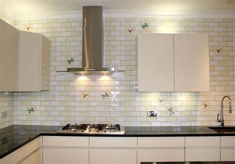 white kitchen with subway tile glossy white subway tile home ideas 1843