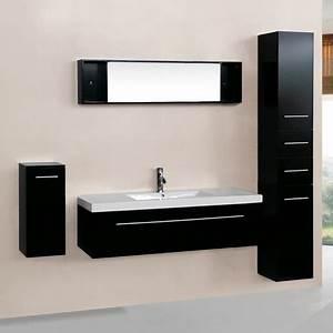 3 Suisses Meuble Salle De Bain : agathe wenge ensemble salle de bain 3 meubles 1 vasque 1 miroir ~ Teatrodelosmanantiales.com Idées de Décoration