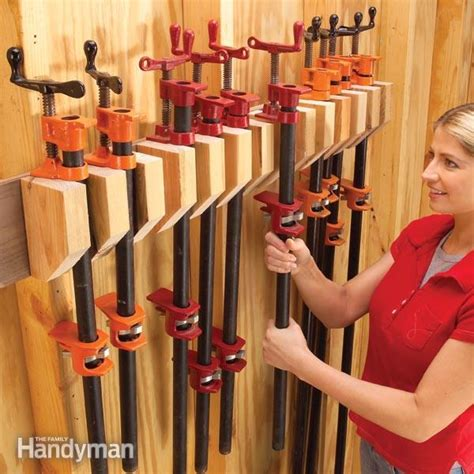 storage   store clamps  family handyman