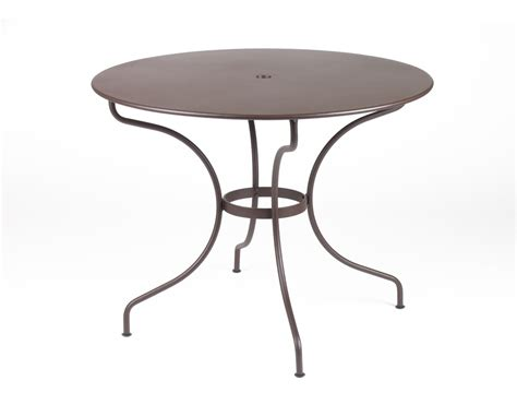 fermob op 233 ra colourful metal garden table for 4 5