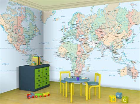 World Map Wallpaper For Kids-wallpapersafari