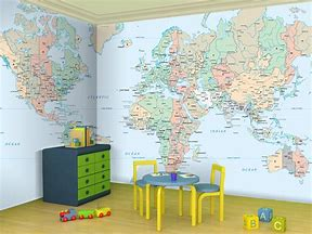 Hd wallpapers world map kids room patternwallpapersewallb hd wallpapers world map kids room gumiabroncs Images