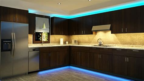 Kitchen Mood Lights by Add Splashes Of Colour With Led Lights