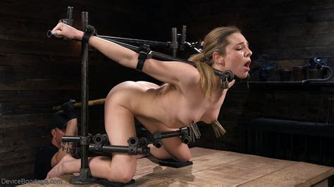 Dahlia Sky Gets Restrained And Has Her Cunt Toyed Of