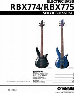 Yamaha Guitar Electric Bass Users Manual