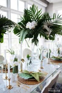 themed centerpieces for weddings 25 best ideas about tropical wedding reception on