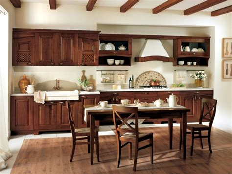 traditional charm   classic wooden kitchen