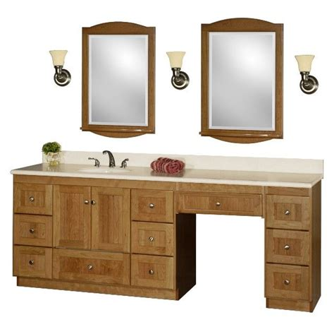 Vanity Area In Bathroom by 60 Inch Bathroom Vanity Single Sink With Makeup Area