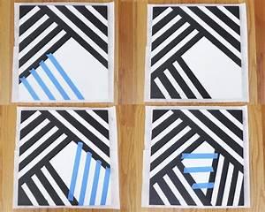 Wandgestaltung Mit Klebeband : bilder selbst gestalten 14 diy wanddeko ideen ~ Markanthonyermac.com Haus und Dekorationen