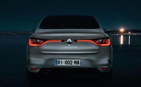 new renault megane sedan renault unveils sporty new megane sedan performancedrive