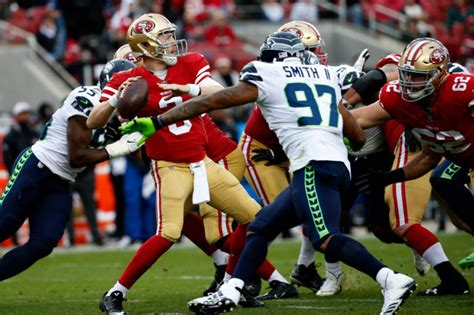 nfl updates ers  seahawks sunday afternoon