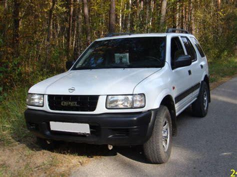 Opel Era by 1999 Opel Frontera Partsopen