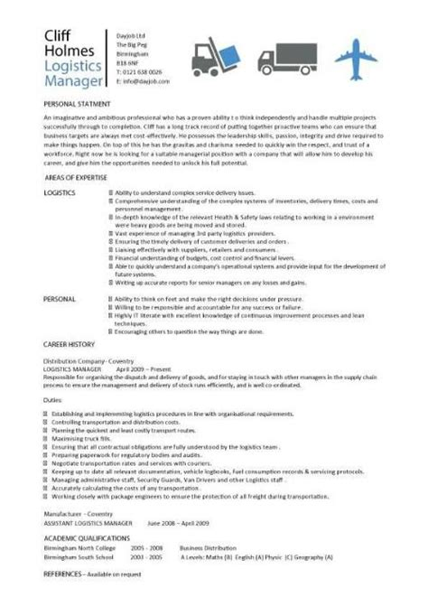 resume examples logistics chef resume manager resume