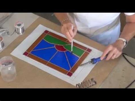 how to make a stained glass l how to make a stained glass window youtube