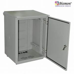 19, U0026quot, Cabinet, Rack, Outdoor, 15u, 40cm, For, Wall, U0026, Hanging, Pole