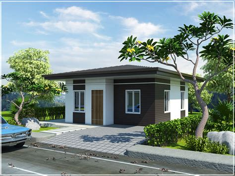 nice modern bungalow house plans  philippines modern
